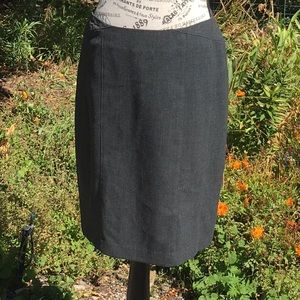 The Limited Gray Skirt